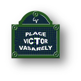 Place Victor Vasarely